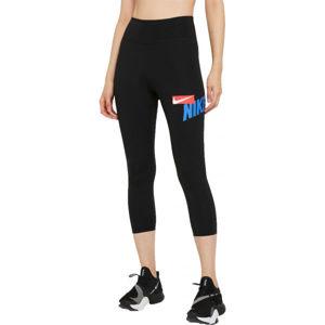 Nike ONE CROPPED GRAPHIC  M - Dámske športové legíny