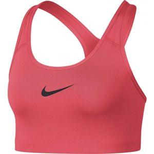 Nike SWOOSH BRA červená XL - Športová podprsenka