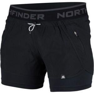 Northfinder HELEN čierna M - Dámske šortky