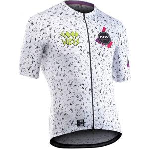 Northwave VIBES biela XXL - Pánsky cyklistický dres