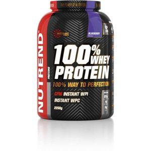Nutrend 100% WHEY PROTEIN 2250G BORŮVKA  NS - Proteín