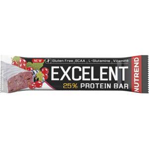 Nutrend EXCELENT 85G ČERNÝ RYBÍZ BAR   - Proteínová tyčinka