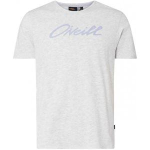 O'Neill LM ONEILL SCRIPT T-SHIRT šedá L - Pánske tričko