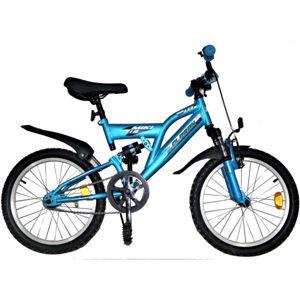 Olpran MIKI 18 modrá NS - Celoodpružený detský horský bicykel