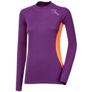 Progress SS ACTIVE LS L fialová M - Dámske funkčné tričko