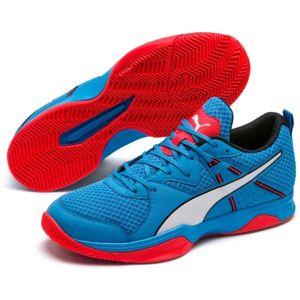 Puma STOKER.18 modrá 10 - Pánska halová obuv