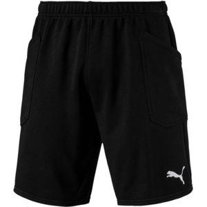 Puma LIGA CASUAL SHORTS čierna XL - Pánske šortky