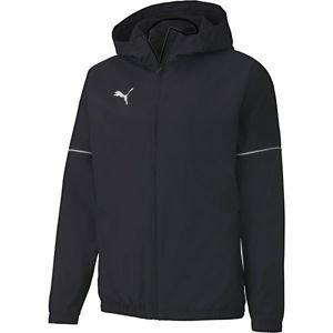 Puma TEAM GOAL RAIN JACKET čierna M - Pánska športová bunda