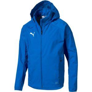 Puma LIGA TRAINING RAIN JACKET modrá XL - Pánska športová bunda