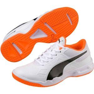 Puma TENAZ JR biela 4.5 - Juniorská halová obuv