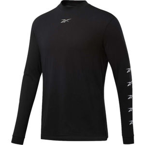 Reebok MEET YOU THERE LS TEE  2XL - Pánske tričko