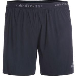 Rukka MALKIO čierna XXL - Pánske funkčné šortky