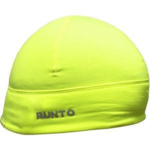 Runto SCOUT zelená UNI - Bežecká elastická čiapka