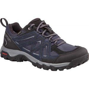Salomon EVASION 2 GTX tmavo šedá 11 - Pánska hikingová  obuv