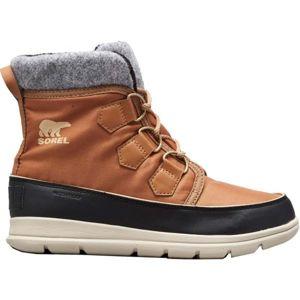 Sorel EXPLORER CARNIVAl hnedá 5.5 - Dámska zimná obuv