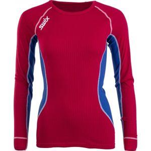 Swix STARX BODYW LS WOMEN červená M - Dámske športové tričko
