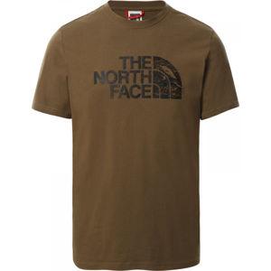 The North Face WOOD DOME TEE  XL - Pánske tričko