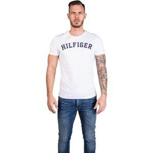 Tommy Hilfiger SS TEE LOGO biela S - Tricou de bărbați