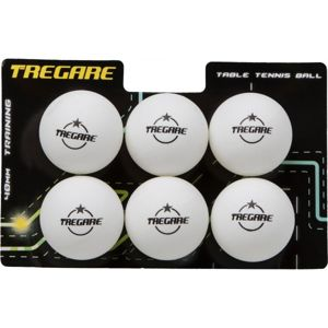 Tregare 1B6-U7B biela  - Loptičky na stolný tenis