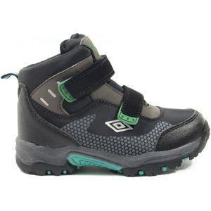 Umbro JON zelená 26 - Detská trekingová obuv