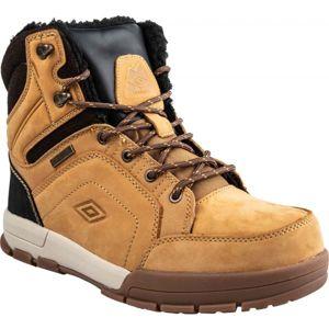 Umbro SYNERGY hnedá 45 - Pánska zimná obuv