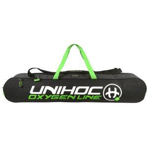 Unihoc OXYGEN LINE 20 čierna NS - Taška na florbalové hokejky