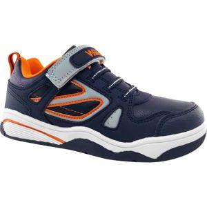 Willard RUSPY tmavo modrá 32 - Detská voľnočasová obuv