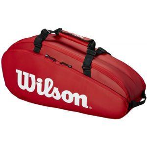 Wilson TOUR 2 COMP SMALL červená NS - Tenisová taška
