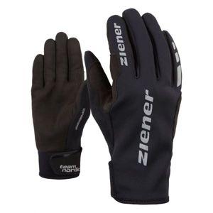 Ziener URS GWS BLACK čierna 5 - Bežecké rukavice