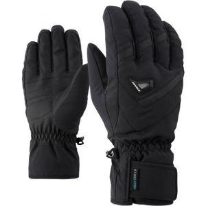 Ziener GARY AS čierna 9 - Pánske rukavice