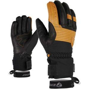 Ziener GINGO AS AW čierna 10.5 - Pánske rukavice