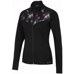 Ziener NARIT BLACK čierna 42 - Dámska softshellová bunda